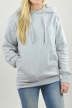 Hoodie Grau, It Was Not - 2414