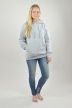 Hoodie Grau, It Was Not - 2416