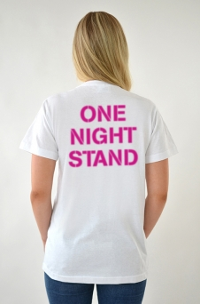 T-Shirt weiß, One Night - 1685