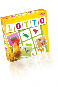 Spiel: Lotto Farm Animals - 1891