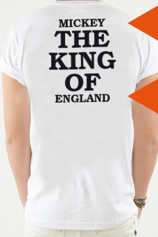 T-Shirt weiß, The King Of - 2058