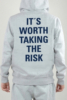 Hoodie Grau, It´s Worth - 2404