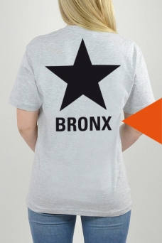 T-Shirt Grau, STAR - 3229