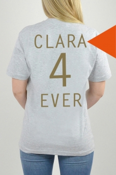 T-Shirt Grau, 4Ever - 3236