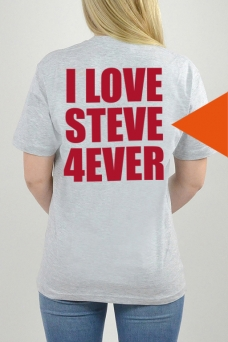 T-Shirt Grau, I Love - 3259