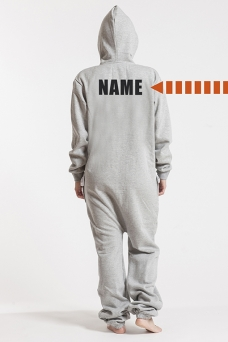 Comfy Grey, Back Nameprint - 4456