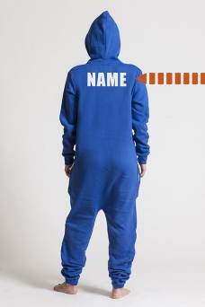 Comfy Blue -Back Nameprint, Onesie - 4528