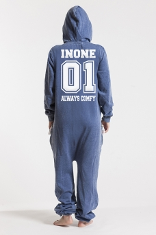 Burned Blue, College 01, Jumpsuit - 4590