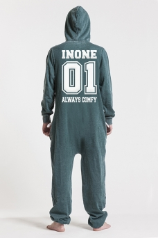 Burned Green, College 01, Jumpsuit - 4599