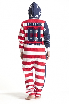 United States, College 01, Jumpsuit - 4825