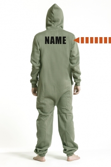 Comfy Armygreen, Back Nameprint - 5246