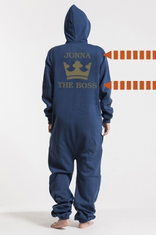 Comfy Navy, The Boss, Jumpsuit - 5328