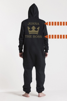 Comfy Black, The Boss, Jumpsuit - 5615