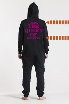 Comfy Black, The Queen - 5726