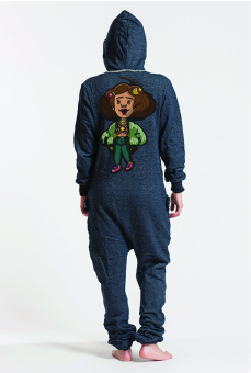 Denim (Girl), Onesie - 6061